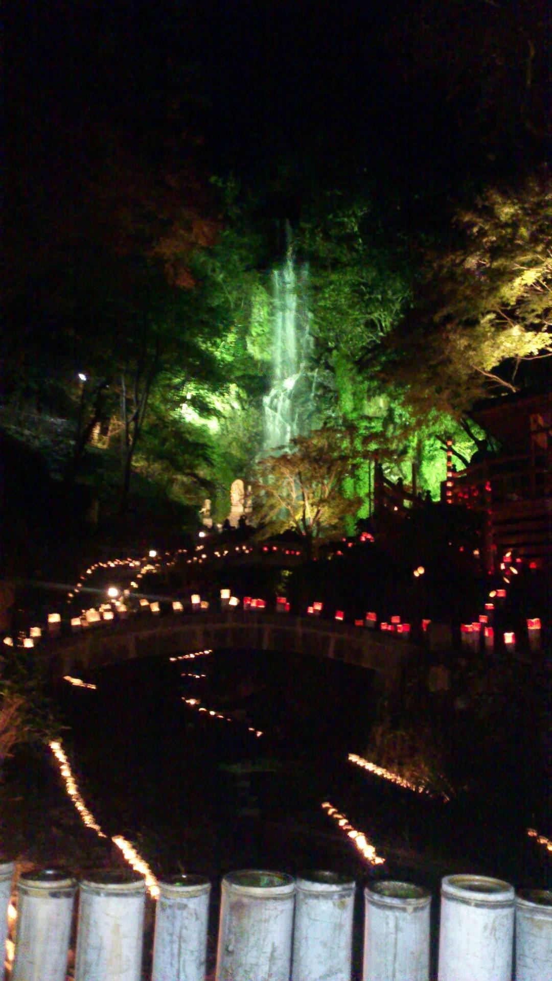 ラブラブデートに『清水竹灯り』に行ってきました。