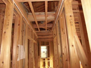 大工さん工事と有効活用スペース