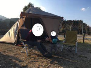 キャンプはじめ