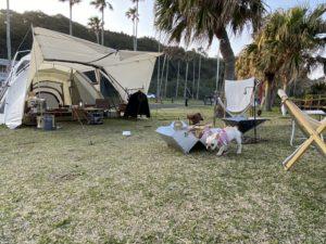 ふくとキャンプ♪